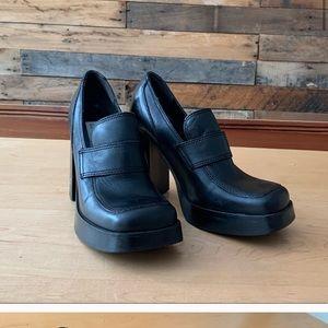 "Vintage 90's Steve Madden ""swild"" shoes."